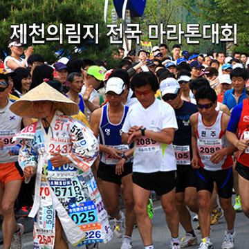 제16회 제천의림지 전국마라톤