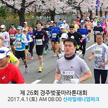 제26회 경주벚꽃마라톤